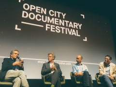Our Panel @ Open City Documentary Festival in London, UK