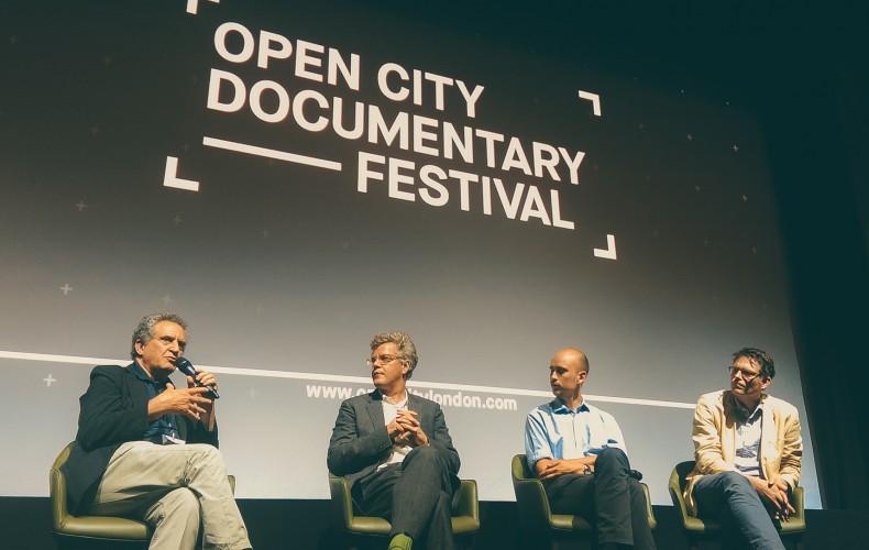 Our Panel @ Open City Documentary Festival in London, UK